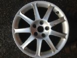 "2008 AUDI A6 2.0 TDI C6 S6 GENUINE 9 SPOKE 17""  ALLOY WHEEL BREAKING 4F0601025J"